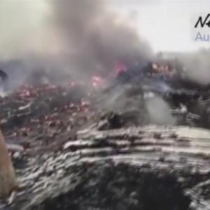 Video zeigt MH17-Absturzstelle kurz nach dem Unglück